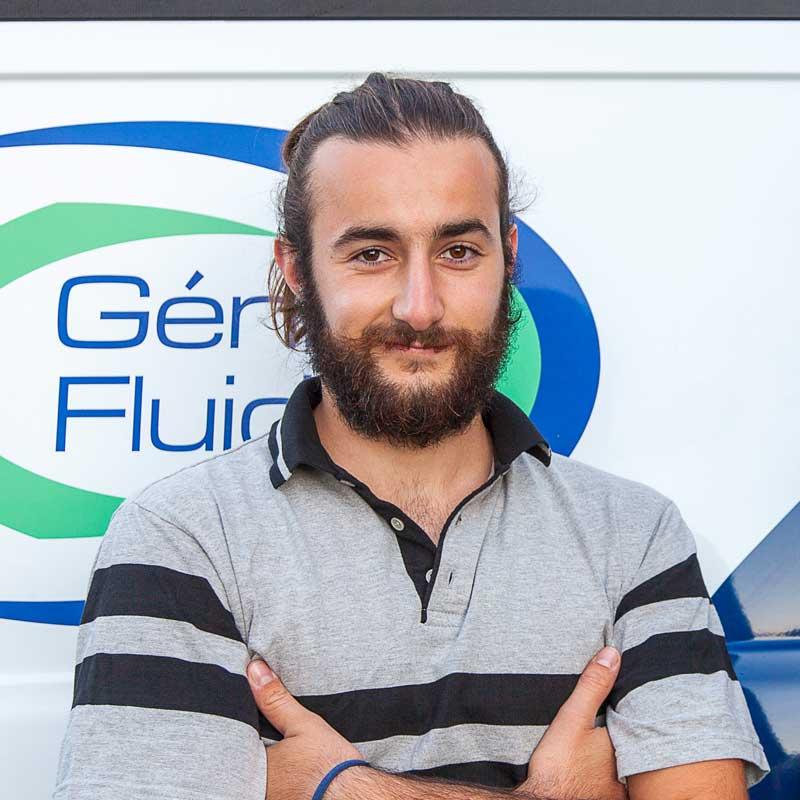 Ulysse PICADO Ouvrier d'exécution qualifié l'entreprise Génie Fluide