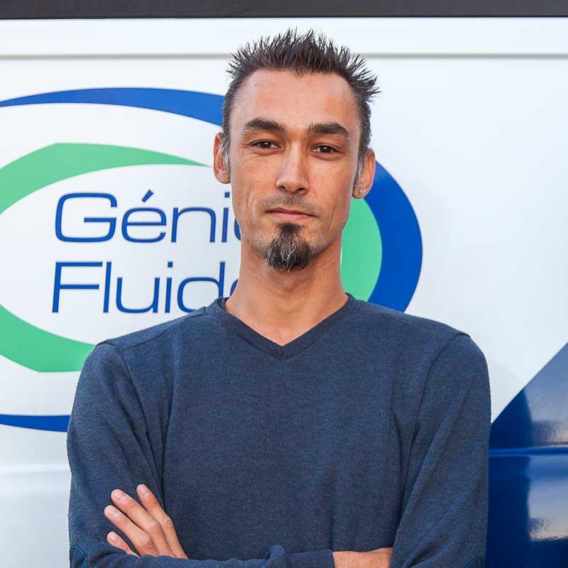 Ken YAMASHITA Chef d'équipe de l'entreprise Génie Fluide