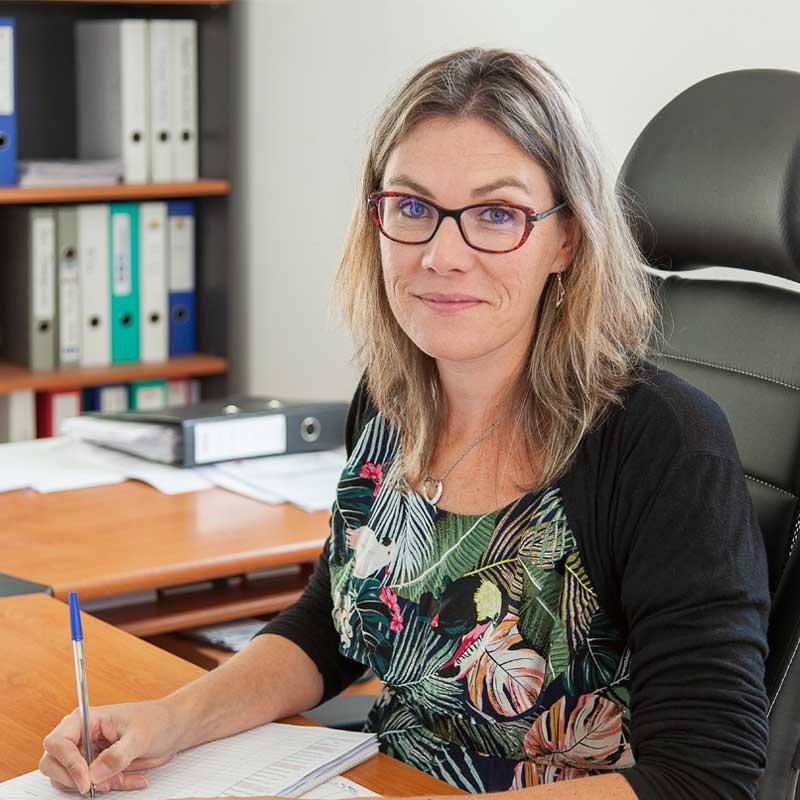 Magali BEGON directrice administrative et financière de l'entreprise Génie Fluide