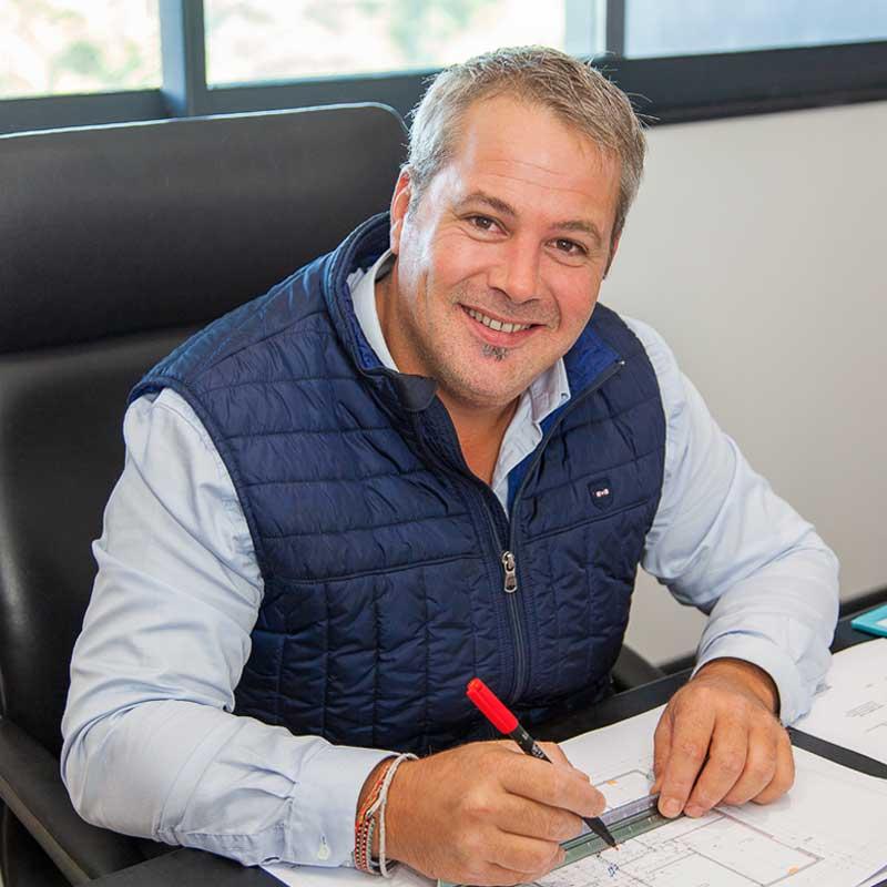 Pierre Lefebvre gérant et associé de l'entreprise Génie Fluide